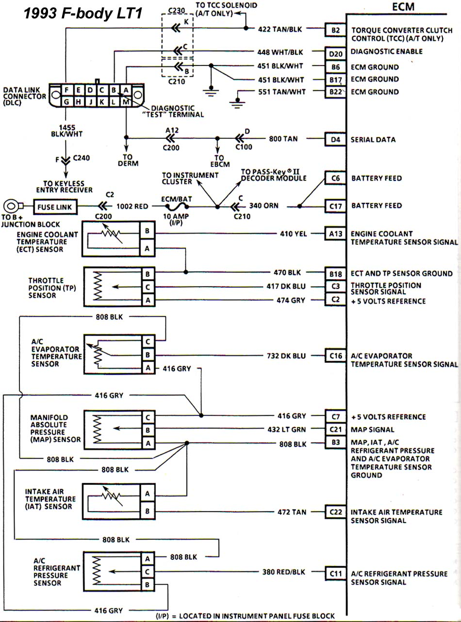 1993_ecm_1 93 to 94 lt1 conversion, no comunication through diagnostic port 1993 lt1 wiring diagram at n-0.co