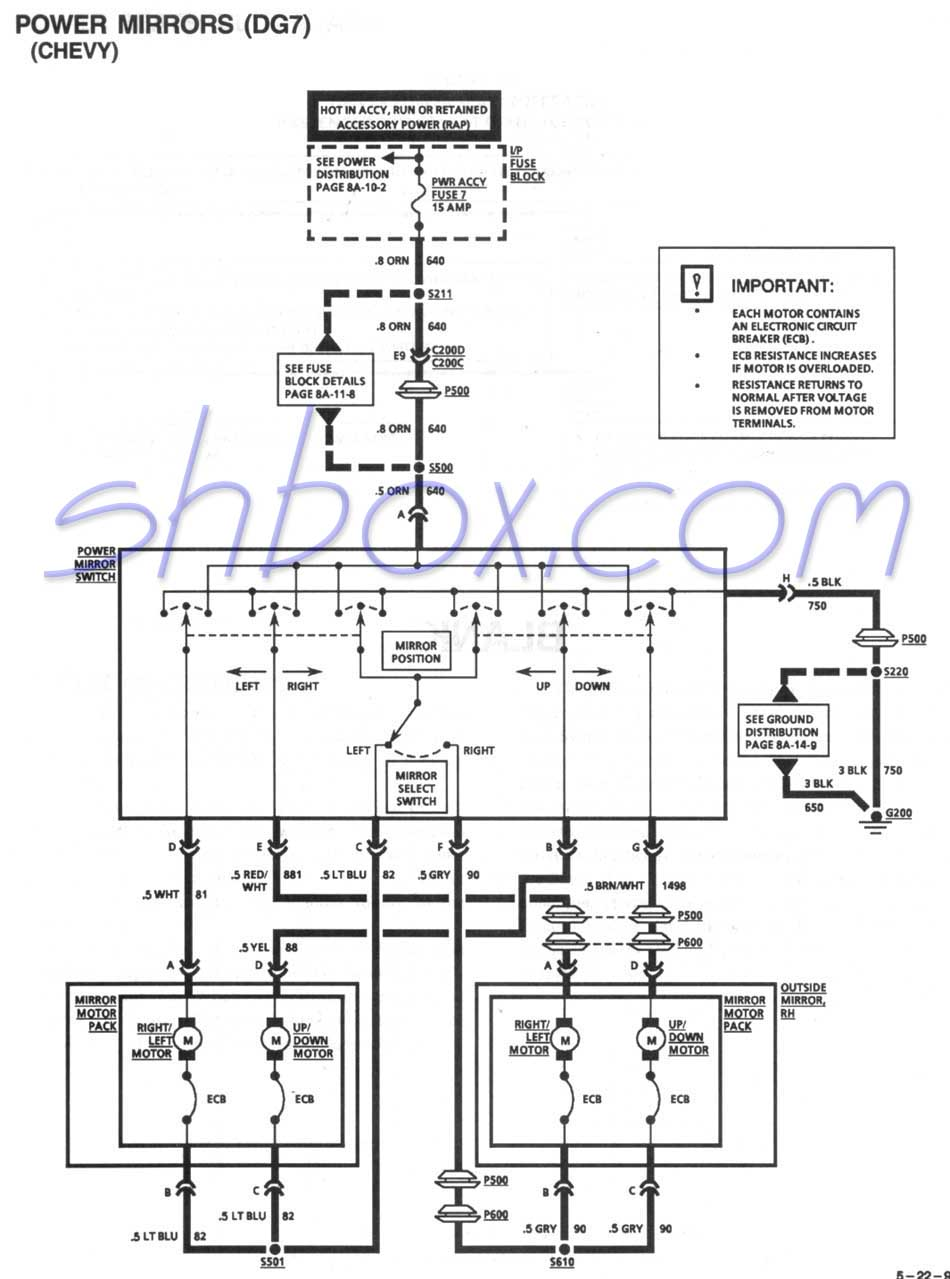 Camaro Fuse Diagram Detailed Schematics 1998 Toyota Rav4 Box 1995 Data Wiring U2022 05 Ford Explorer