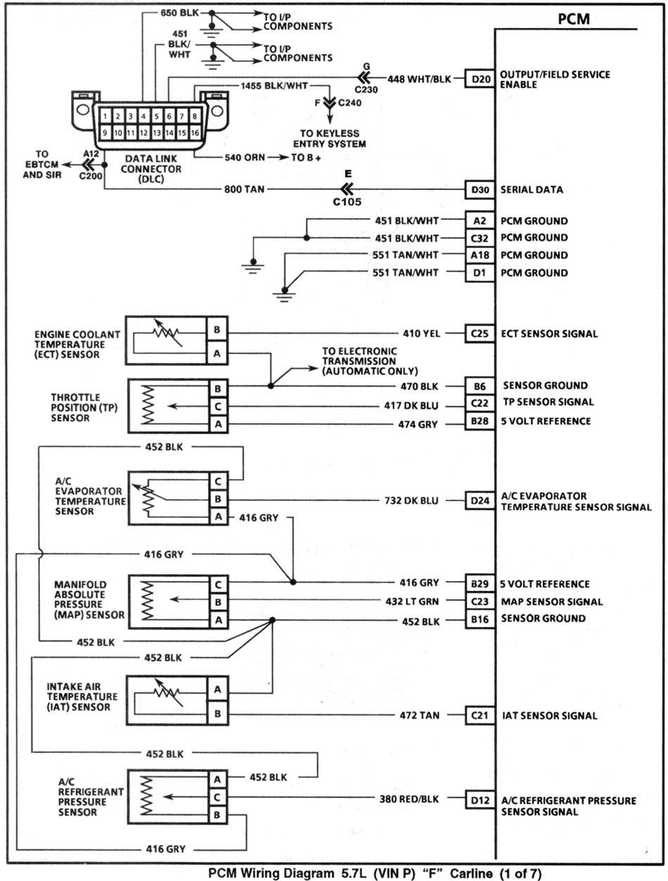 1995_pcm1 obd 6 pin wiring diagram obd wiring diagrams Lexus SC300 Engine at cos-gaming.co
