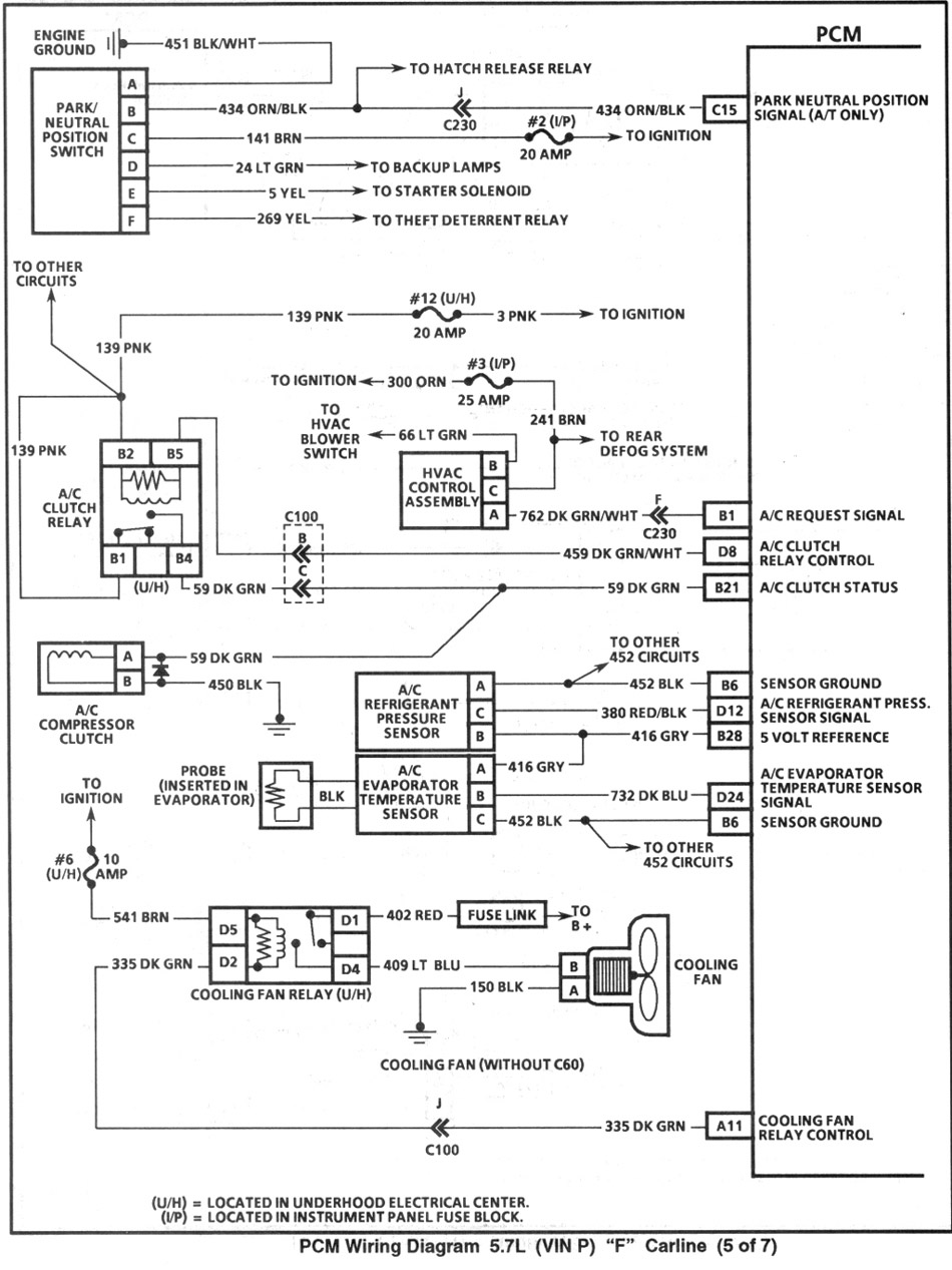 4th Gen Lt1 F Body Tech Articles