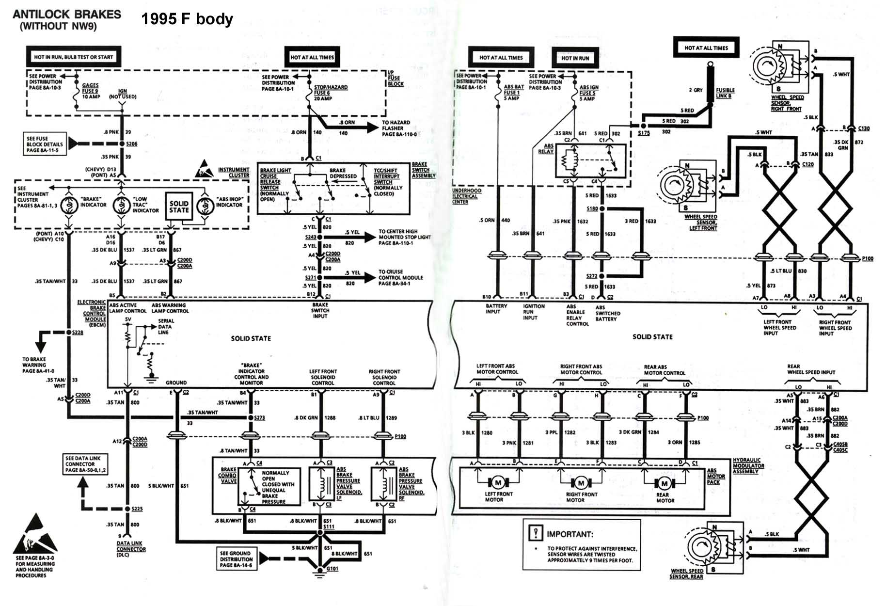 ABS_schematic find the abs sensor hookup ls1tech camaro and firebird 1995 camaro wiring diagram at edmiracle.co
