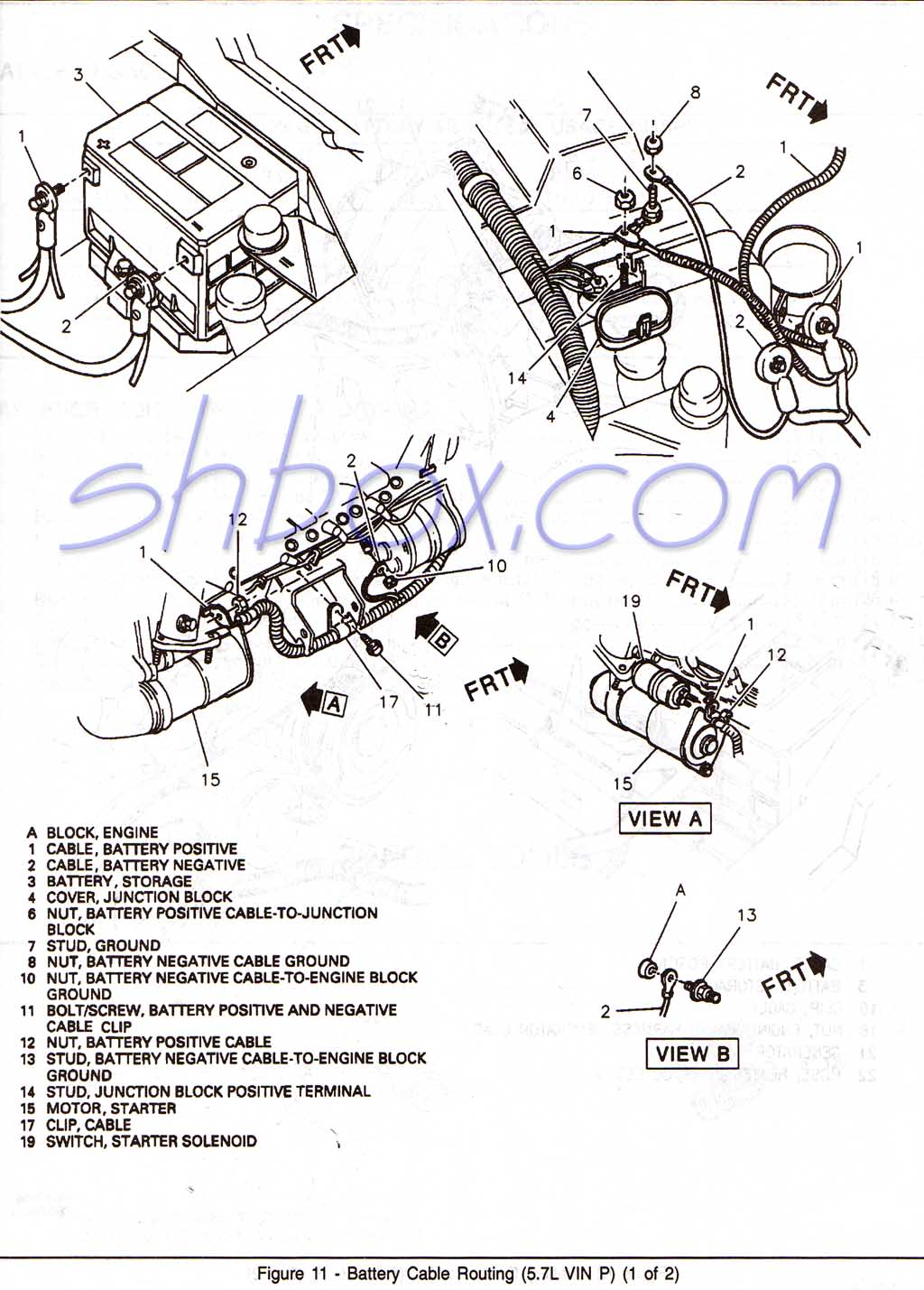 Camaro Car Stereo Wiring Harness Library Diagram Metra 71 1677 1 2001 Wire Battery Cable Routing View