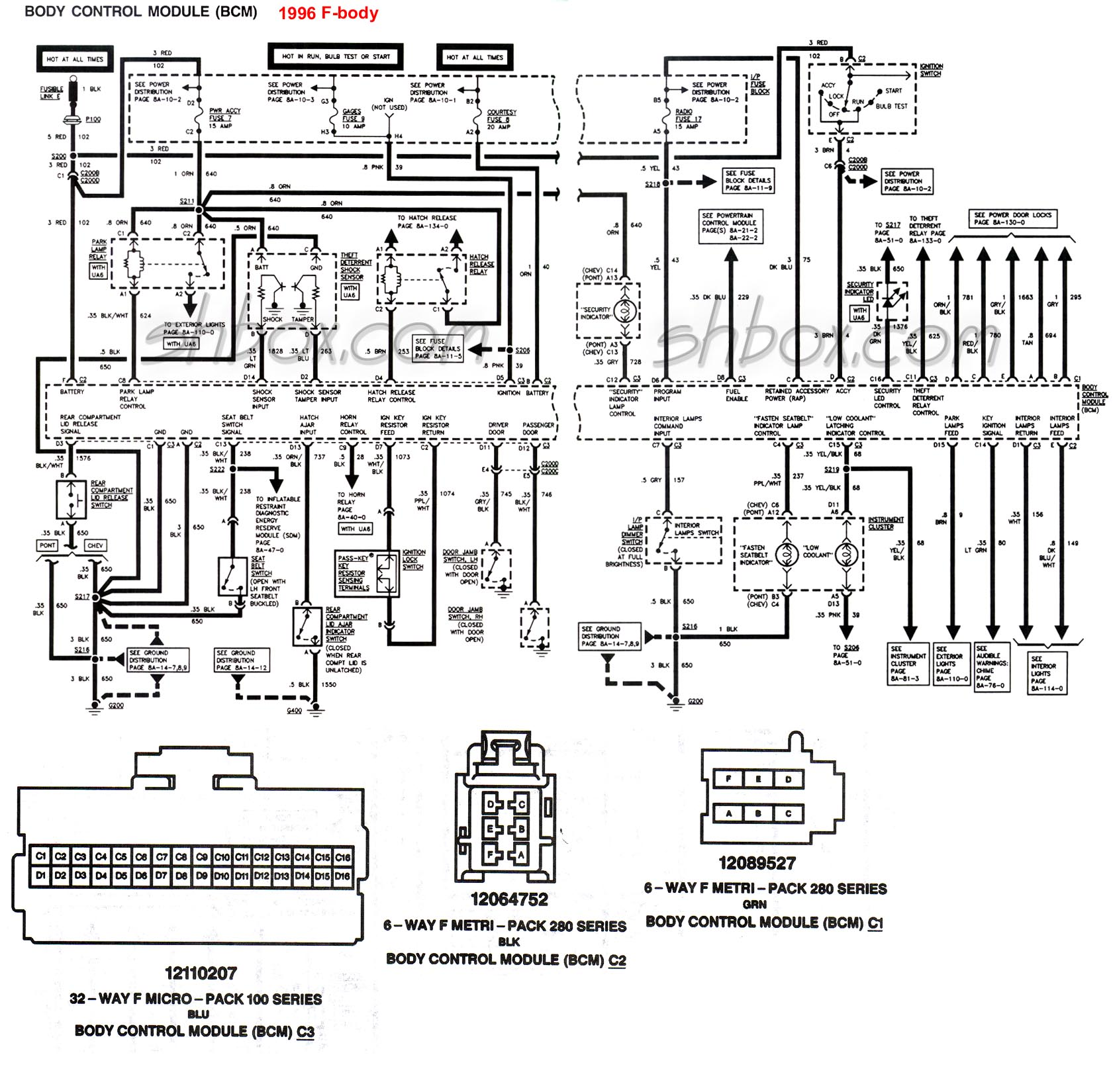 bcm_1996 4th gen lt1 f body tech aids 4l60e wiring schematic at mr168.co