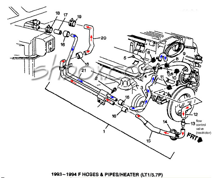 96 impala ss engine diagram