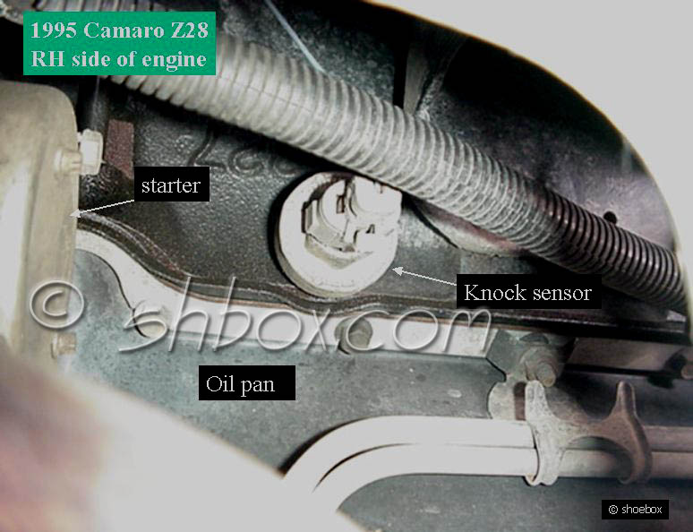 knock sensor - CamaroZ28 Com Message Board