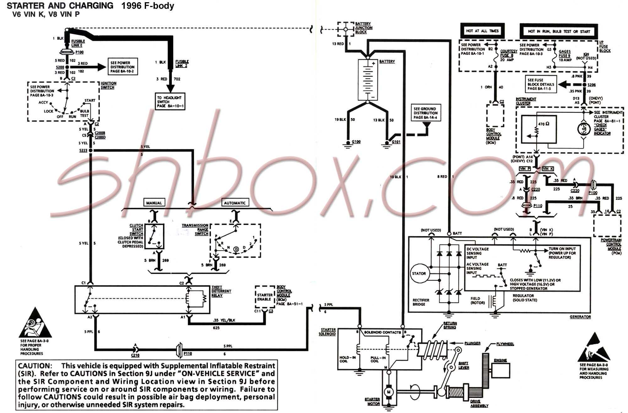 starter_charging_96 4th gen lt1 f body tech aids Turn Signal Wiring Diagram at gsmx.co