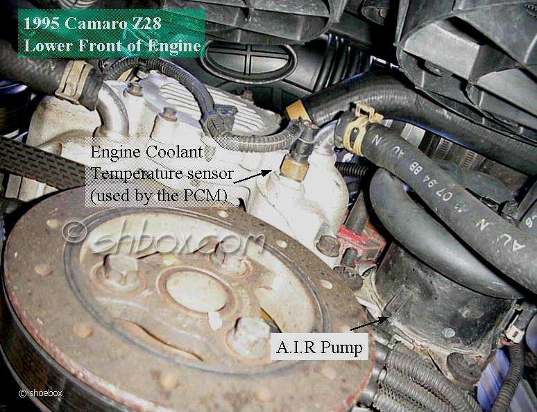 4th Gen Lt1 Fbody Techponent Location Viewsrhshbox: Location Of 1994 Camaro Z28 Lt1 Coolant Temp Sensor At Gmaili.net