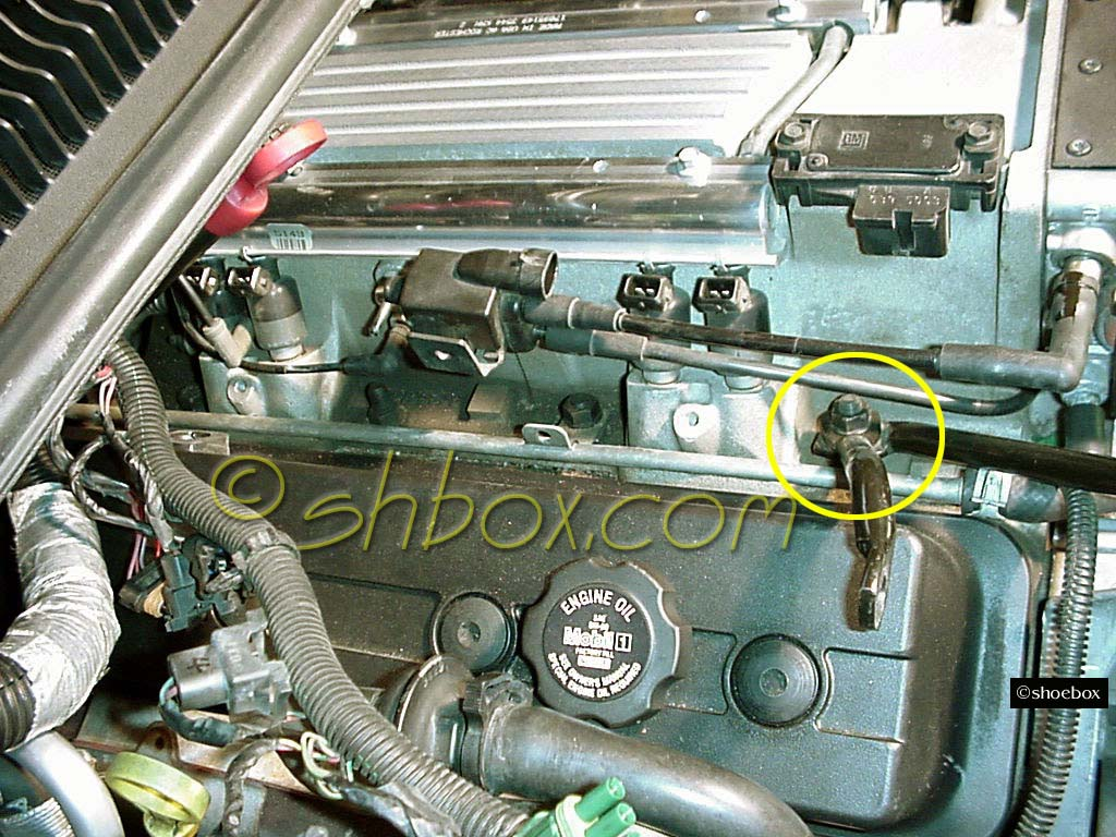 4th Gen LT1 F-body Cam Removal